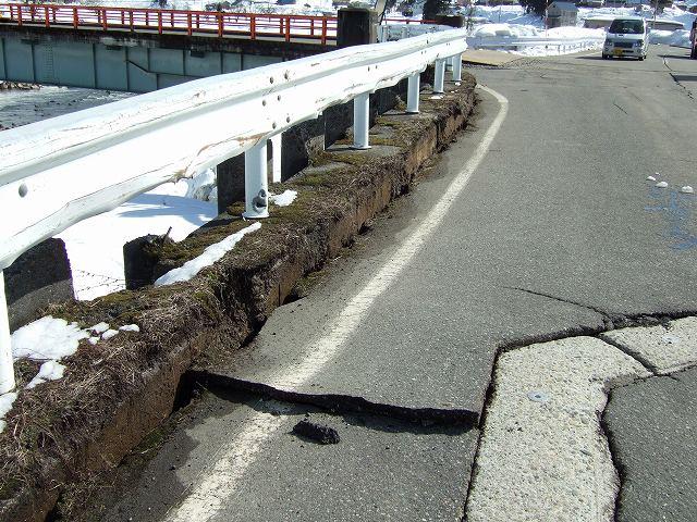 地震2日目