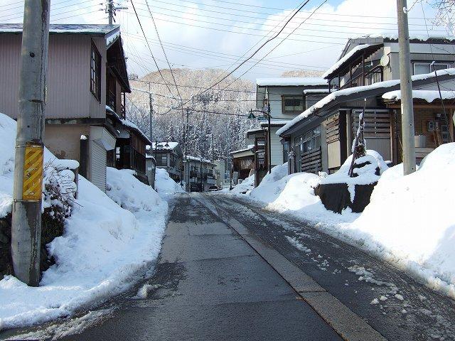 20cmの雪降り