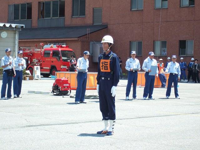 北信地区消防ポンプ操法大会