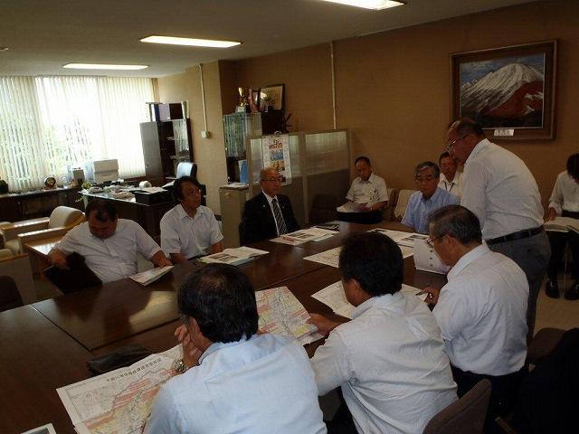 長野県建設部へ提言