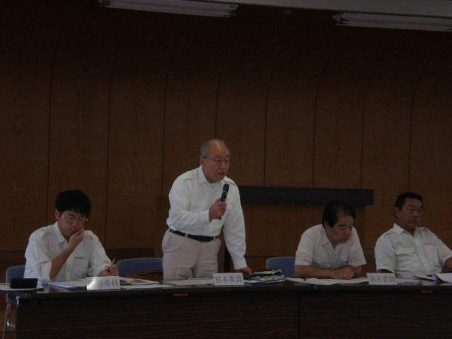 農政林務委員会中南信地区現地調査