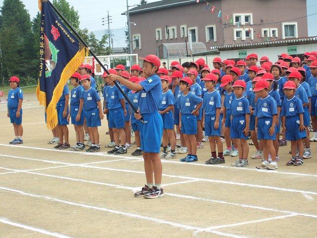 飯山小学校運動会