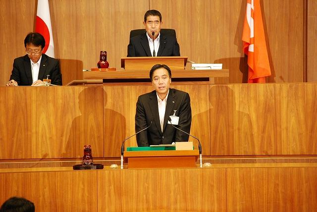 9月定例議会開会日