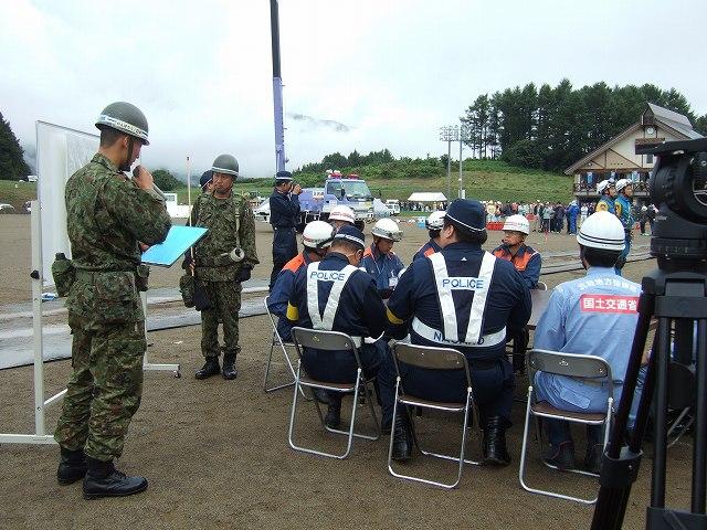 長野県総合防災訓練