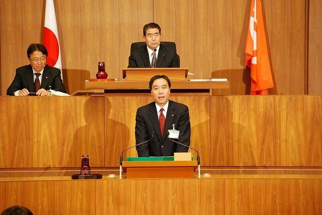 11月定例議会開会